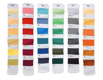 Pantone Color Coded Scarves
