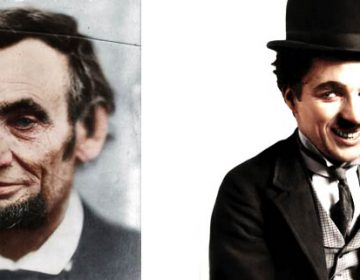 Colorized B&W Photos of Historical Icons