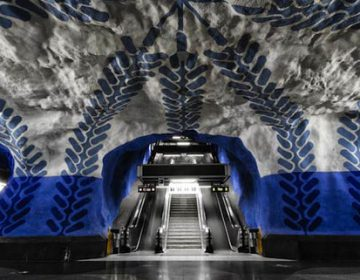 Art Inside the Stockholm Metro