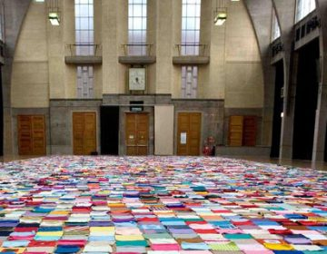 Oxfam's Giant Knitted Petition