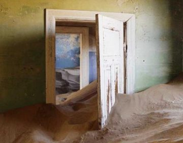 Sand takes over Kolmanskop