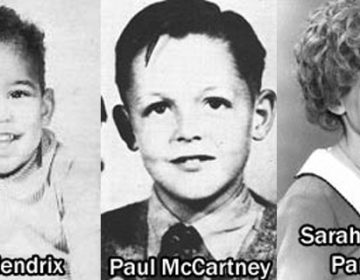 Celebrities When They Were Kids