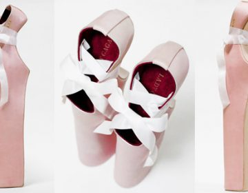 """Lady Pointe"" shoes for Lady Gaga"