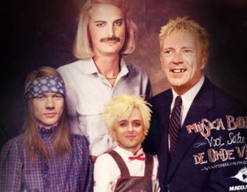 Musicians Family Portrait