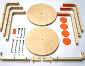 DIY Furniture | IKEA stool-bicycle