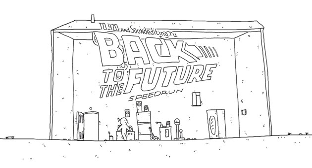 Back to the Future in 60 seconds