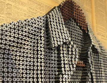 Shirt made out of 6,500 screws | Andrew Myers