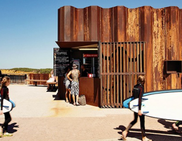 Third Wave Coffee Kiosk