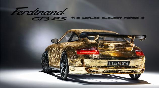 Cardboard Porsche GT3 RS