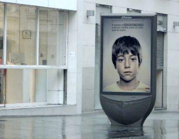 Anti-Abuse Ad | Lenticular Printing