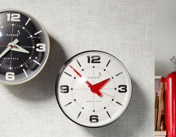 Bubble Wall Clocks