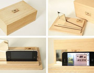 The Love Box | Handmade video mixer for iPhone