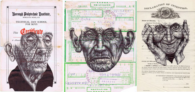 Bic Pen Portraits | Mark Powell