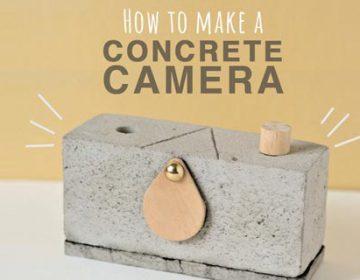DIY Concrete Camera