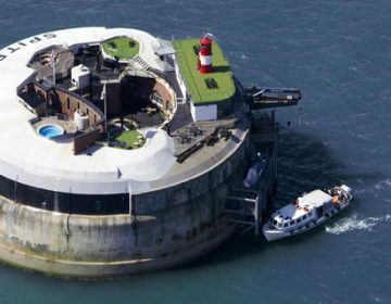 Spitbank Fort Luxury Hotel