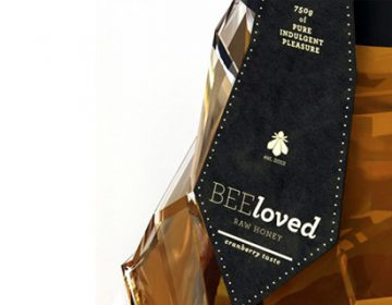 BEEloved creative packaging