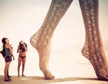 Gorgeous Sculpture at Burning Man