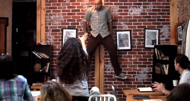 Telekinetic Coffee Shop Surprise