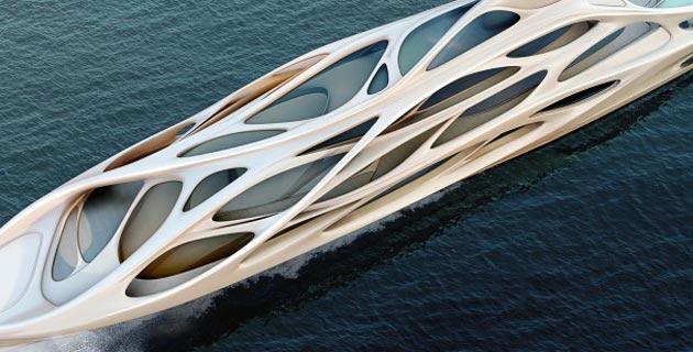 Zaha Hadid Superyachts
