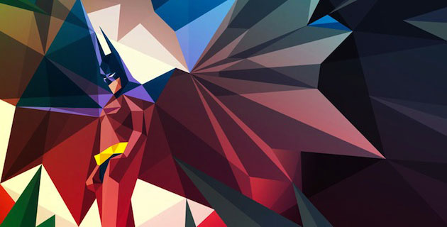 Super | Polygonal Superheroes