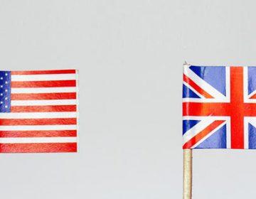 BRITISH words vs U.S.words