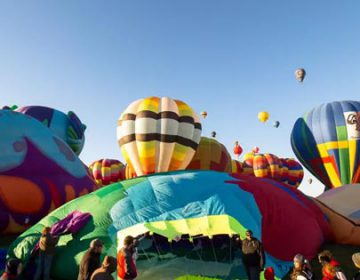 hot air balloon festival | Albuquerque