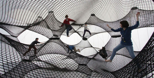 Net Blow up – Interactive Inflates