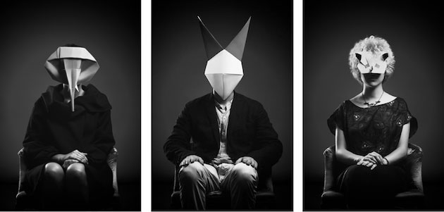 One of Us | Origami portraits