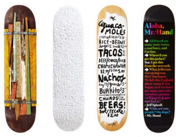 """Bordo Bello"" skateboard art show"