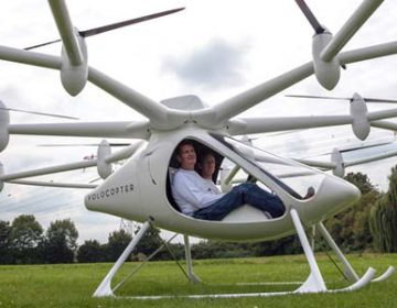 Electric Helicopter E-Volo VC200
