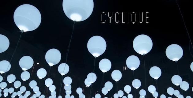 CYCLIQUE | Light and Sound Installation