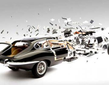 Exploded Cars | Fabian Oefner