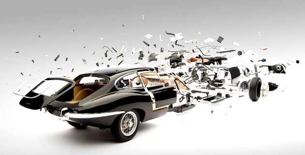 Exploded Cars | Fabian Oefner