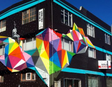 Colorful Geometric Street Art | Okuda