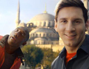 Kobe vs. Messi: The Selfie Shootout
