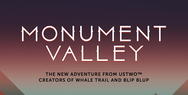 MONUMENT VALLEY | ustwo