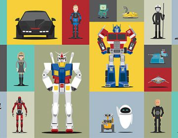 The 66 most iconic robot