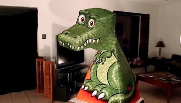 T-Rex Illusion