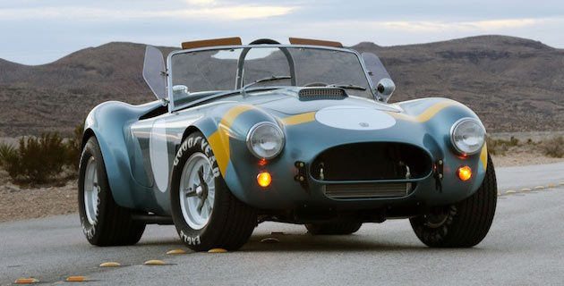 Shelby FIA Cobra resurrected 50 years on