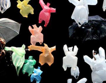 Dancing Air-Borne Plastic Bags