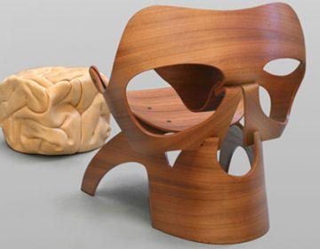 Skull Chair and Brain | Vladi Rapaport