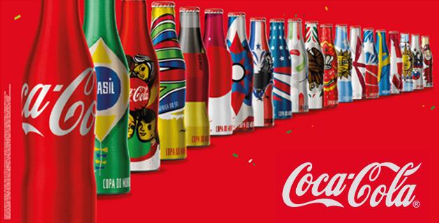 Coca Cola 2014 FIFA World Cup mini-bottles