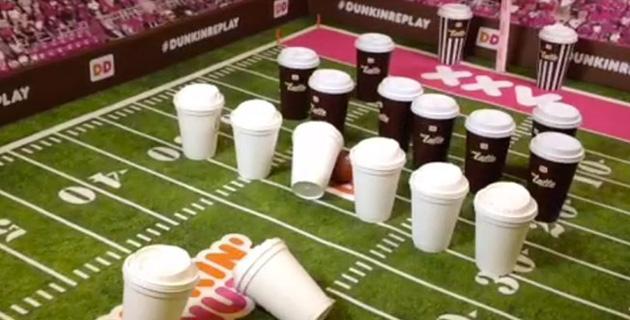 Vine super Bowl Commercial | Dunkin Donuts