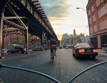 NYC from A Bicycle Seat