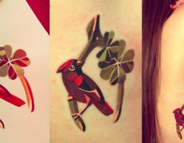 Watercolour Tattoos | Sasha Unisex