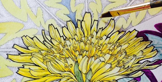 Flowers in Progress | Noel Badges Pugh