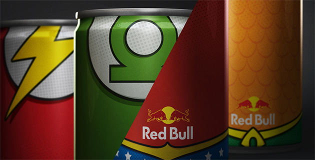 Red Bull Superheroes Concept