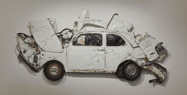 In Reverse | Pressed Sculptures by Ron Arad