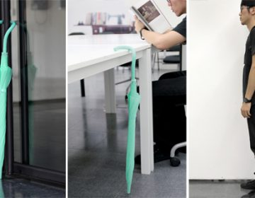 Flexible umbrella | Liang-Hock Poh + Ming-Hung Lin
