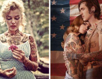 Inked celebs | Shopped Tattoos